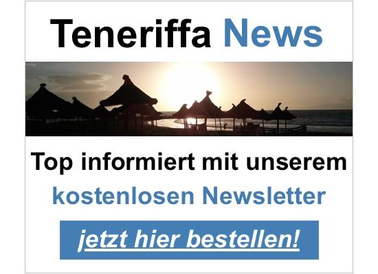 Teneriffa News Newsletter bestellen