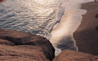 Blick auf den Playa del Duque in Costa Adeje