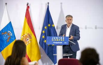 Ángel Víctor Torres Präsident Kanarische Inseln PK 2020