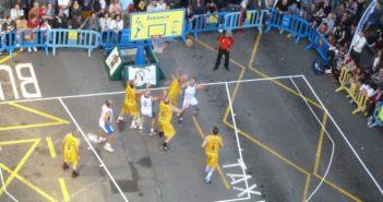 Basketball UB Puerto Cruz 25. Jubiläum Plaza del Charco Teneriffa