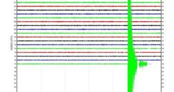 Erdbeben vor El Hierro im Dezember 2013 - Stärke 5,1