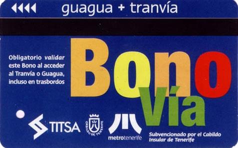 Bonobus Busticket Teneriffa