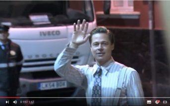 Brad Pitt rettet Mädchen aus Gedränge Gran Canaria