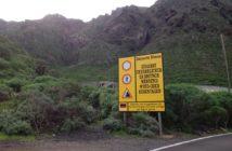 Buenavista Punta Teno Warnschilder