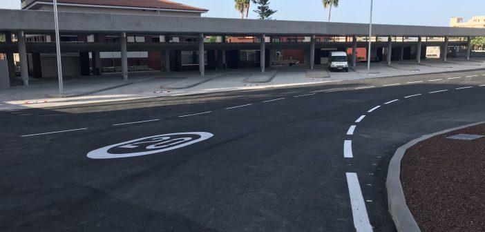 Busbahnhof Puerto de la Cruz Teneriffa Einfahrt