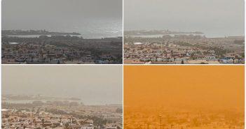 Calima Kanaren Fuerteventura Verlauf 02-2020