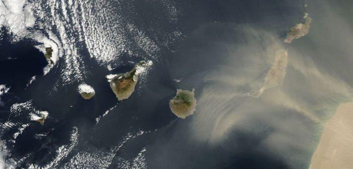 Calima Wetterwarnung Sandsturm Kanaren Teneriffa