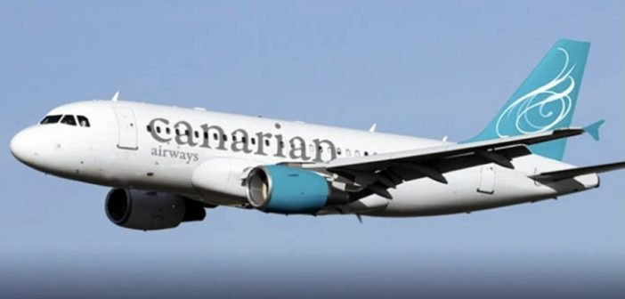 Canarian Airways FLuglinie Airline Kanaren Airbus A 319