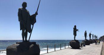 Candelaria Teneriffa Menceys-Statuen