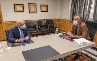 Corona Kanaren Präsident Angel Victor Torres Antonio Morales Gran Canaria