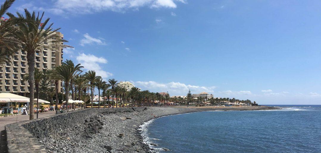 Costa Adeje Teneriffa Küste Promenade