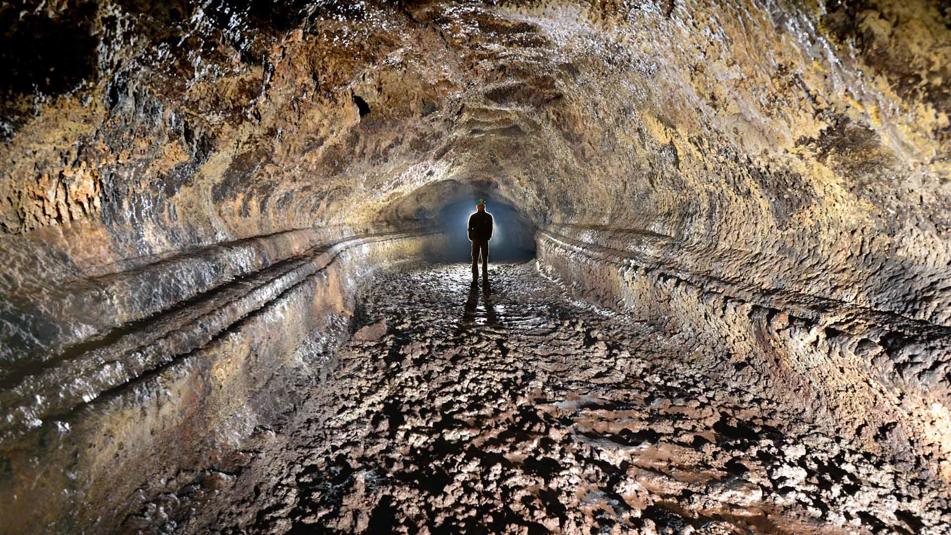 Lavahöhle Teneriffa
