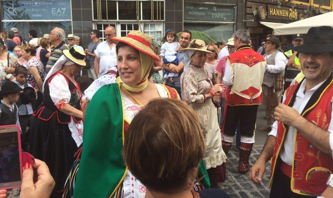 Dia de Canarias - Tag der Kanarischen Inseln Trachten