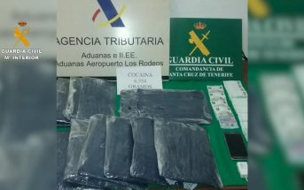 Kokain Drogen Teneriffa La Laguna Madrid Paraguay Guardia Civil