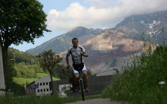 Einrad Heimo Katzbauer Training Österreich