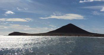 El Médano Teneriffa Montaña Roja
