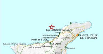 Erdbeben vor Teneriffa 2012