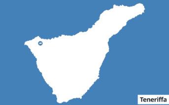 Erjos Landkarte Teneriffa