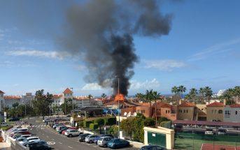 Feuer 2020 grill Teneriffa Costa Adeje