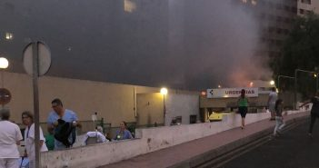 Feuer Teneriffa Uni-Klinik Santa Cruz