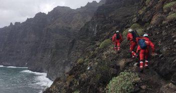 Feuerwehr Einsatz Rettung Masca Teneriffa 02-2018
