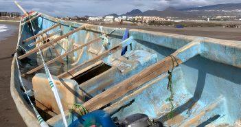 Flüchtlinge Migranten Kanaren Boot Cayuco Migration
