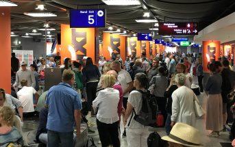 Flughafen Düsseldorf Gepäck Chaos