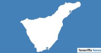 Flughafen Teneriffa Süd und Hafen Santa Cruz Landkarte Teneriffa