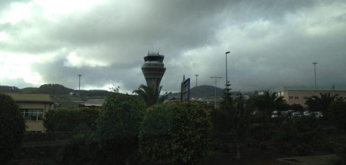 Der Tower des Airport Teneriffa Nord