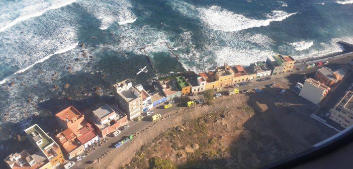 Flugzeug-Absturz Gran Canaria Atlantik 2019