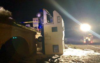 Fuerteventura Wohnmobil abgestuerzt Strand