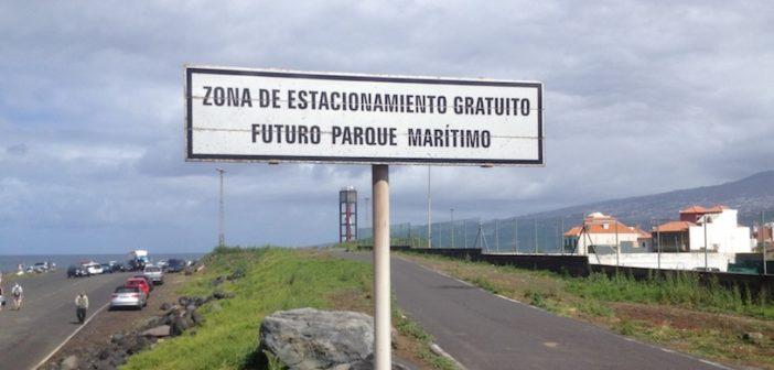Futuro Parque Maritimo Parkplatz Hafen Puerto de la Cruz