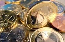 Geld Kleingeld Münzen