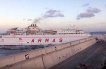 Gran Canaria Fähre Hafen Unfall