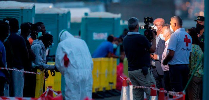 Gran Canaria Kanaren Migration Pressetermin Torres