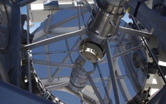 Spiegel Sonnenteleskop Gregor Teneriffa