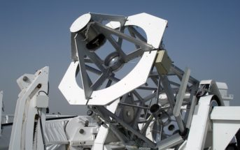 Gregor Teleskop Teneriffa außen