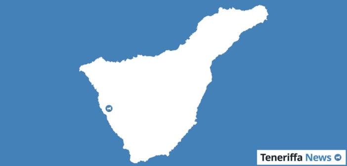 Guia de Isora Landkarte Teneriffa
