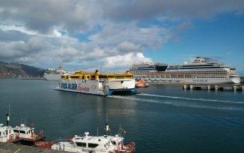 Hafen Teneriffa Santa Cruz Schiffe