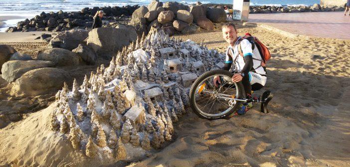 Fotos: Mit dem Einrad quer über Gran Canaria