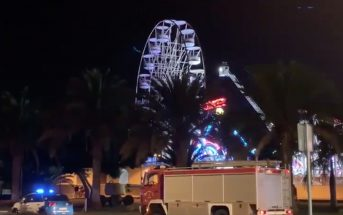 Holiday World Maspalomas Gran Canaria Stromausfall Riesenrad Feuerwehr 10-2019