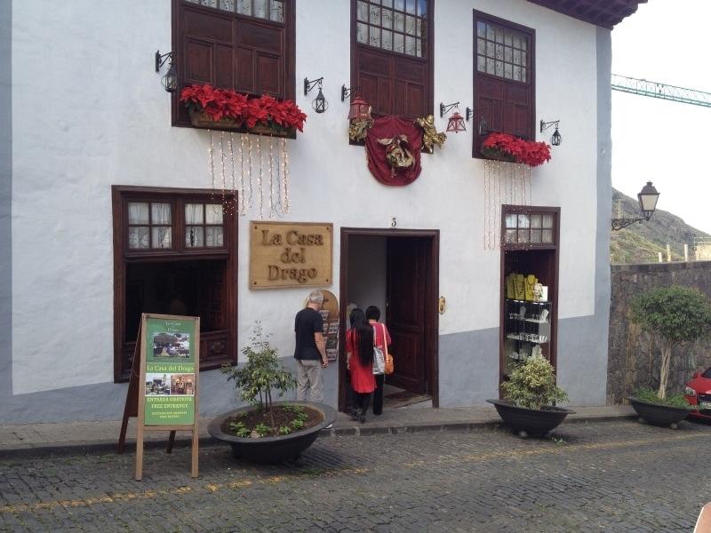Die Casa del Drago in Icod de los Vinos