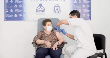 Kanaren erste Corona-Impfung auf Teneriffa