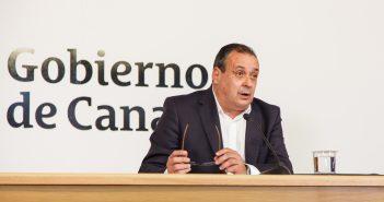 Kanaren Gesundheitsminister Blas Trujillo