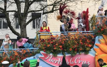 Karneval Düsseldorf Rosenmontagszug Teneriffa Puerto Wagen Übersicht