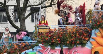Fotos: So schön feiert Teneriffa beim Düsseldorfer Rosenmontagszug