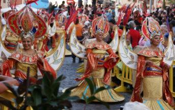 Puerto de la Cruz Teneriffa Karneval Kostüme