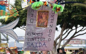 Karnevalszug Santa Cruz Teneriffa Gedenken Saida