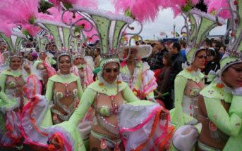 Karneval Kanaren Symbolfoto Platzhalter Tänzerinnen