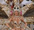 Die Karnevalskönigin beim Karneval auf Teneriffa